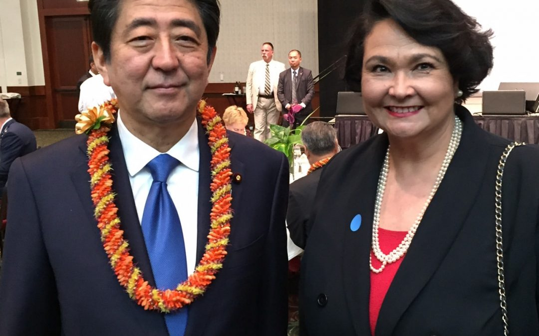 HTIC Dean meets Japanese Prime Minister