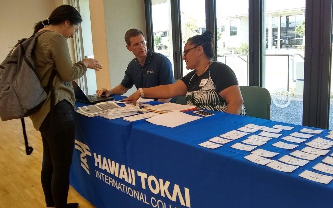 Hawaii Tokai hosts HITESOL 2018 Conference